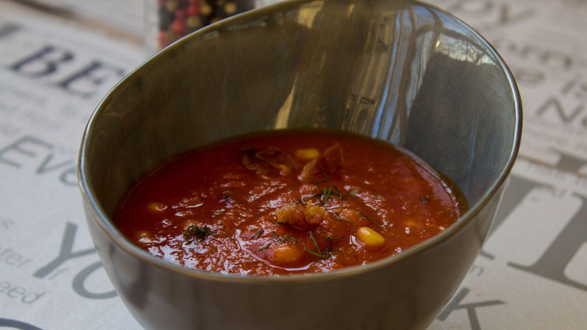Pikantna paradajz čorba