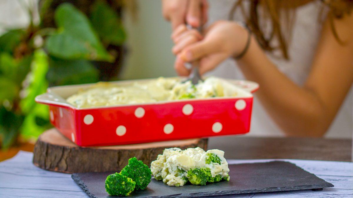 Gratinirani brokoli