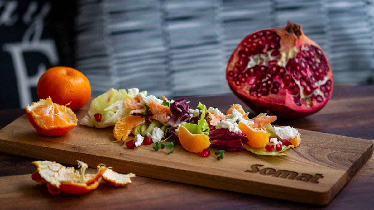 Zdrava salata sa lososom