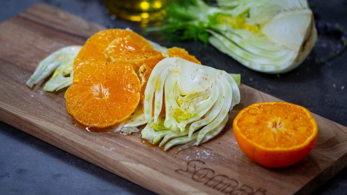 Salata od komorača i mandarine