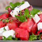 Salata od lubenice i Mediteraneo sira