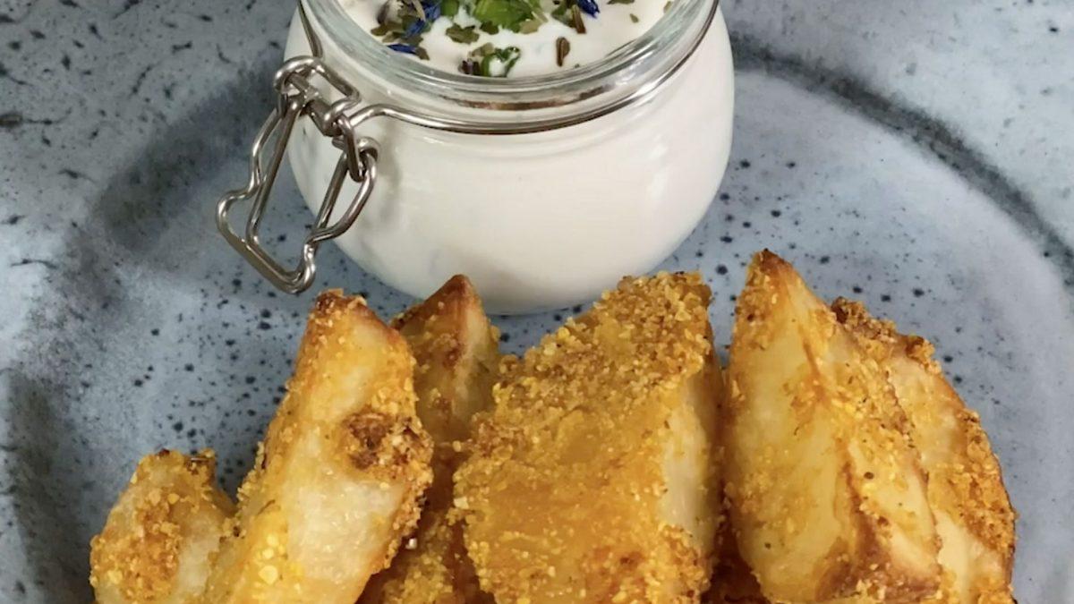 Začinjeni krompir iz rerne i satrica